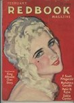 Redbook Feb 1932  F Scott Fitzgerald Story, McClelland Barclay  Cover