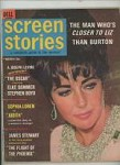 Screen Stories 1966 Mar Elizabeth Taylor Cover