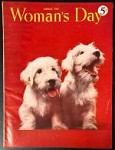 Woman's Day Aug 1947 Constance Bannister Cover