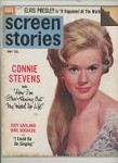 Screen Stories May 1963 Connie Stevens Cover