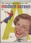 Modern Screen Aug 1949 June Allyson Cover