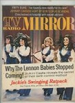 TV Radio Mirror Jan 1972 The Lennons Cover