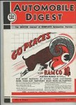 Automobile Digest Sep 1939 Cadillac, LaSalle Ramco Illustrated Cover