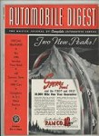 Automobile Digest Jan 1940 Service Year Book Service Data 1940