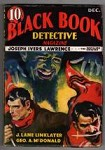 Black Book Detective Dec 1933 Horror Cvr: satanic villain