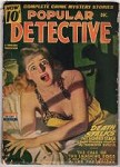Popular Detective Dec 1944 Blonde GGA Cover; Murray Leinster; Robert Wallace