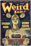 Weird Tales Mar 1945 Tilburne Cvr; Ray Bradbury; H. Bedford-Jones; Wellman; Quinn