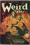 Weird Tales May 1945 Kuhlhoff Cvr; Ray Bradbury; Bloch; Derleth; Wellman; Hamilton