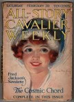 All Story Cavalier Weekly Feb 20 1915 Hamilton King Cvr; Fred Jackson Novelette