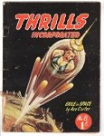 Thrills Incorporated 1950 Issue 8 T. Brand cover