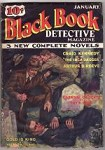 Black Book Detective Jan 1934 Craig Kennedy story