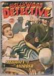 Hollywood Detective Jan 1944 Assault cover; Robert Leslie Bellem