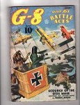 G-8 Battle Aces Jan 1937 Blakeslee Cvr; Robert J. Hogan