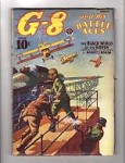 G-8 Battle Aces Mar 1939 Male bondage cover;