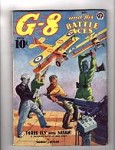G-8 Battle Aces May 1939 Male bondage cover;