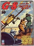 G-8 Battle Aces Jun 1943 Leo Morey Illustrations;