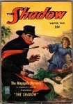The Shadow Winter 1949 Scarce issue; Rozen knifethrow at Shadow Cvr; Maxwell Grant