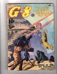 G-8 Battle Aces Sep 1938 Robert J. Hogan, Frederick Blakeslee