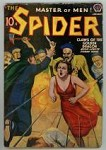 The Spider Jan 1939 Oriental Menace / GG Cover Art