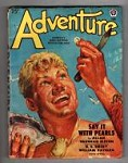 Adventure Feb 1949 Charles Dye Cvr; Allan Vaughan Elston