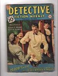Detective Fiction Weekly Dec 10 1938, Hugh B. Cave Richard Sale Stookie Allen