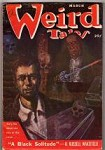 Weird Tales March 1951 Bill Wayne Cvr; Frank Belknap Long; Greye La Spina