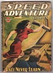 Speed Adventure Stories March 1944 Ward GGA, Rousseau, Hugh B. Cave,
