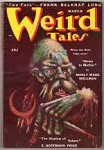 Weird Tales Mar 1950 Lee Brown Coye Cvr; Day Keene; E. H. Price; Wellman; CA Smith