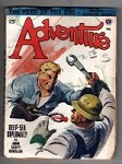 Adventure Feb 1947 Malvin Singer Cvr; Clive Grierson Cornish-The Reluctant Dowser