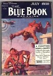 Blue Book July 1930  Burroughs Classic Cover
