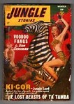 Jungle Stories 1948 Winter Male Bondage GGA; Ki Gor The Lost Beast of Ta'Tamba