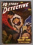 10 Story Detective Jun 1949 Al Drake Bondage Cvr; Ray Cummings