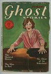 Ghost Stories November 1928 Dalton Stanley Cover Art; Uncommon Title