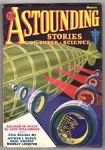 Astounding Mar 1933  Last Clayton Issue; Williamson Cover Story