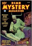 Dime Mystery Magazine Mar 1936 Lovell Mad Scientist/GG Cvr; Paul Earnst