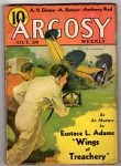Argosy Oct 26 1935 H. Bedford Jones; Allan Vaughan Elston; Eustace L. Adams