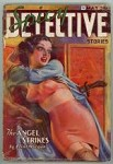 Spicy Detective May 1936 HJ Ward Damsel in Distress cvr; Trimmed