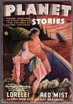 Planet Stories Summer 1946 Ray Bradbury, The Martian Chronicles, Leigh Brackett