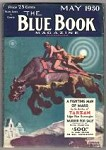 Blue Book May 1930 Laurence Herndon Cvr; Burroughs