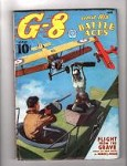 G-8 Battle Aces Jun 1937 Zombie Plane Attack;