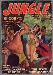 Jungle Stories  Summer 1943 Damsel cover; Ki Gor Caravan of Terror