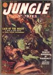Jungle Stories  Spring 1941  Saunders Bondage Cover; Lair of the Beast