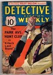 Detective Fiction Weekly Feb 23 1935;Judson P. Philips Park Ave;H. Bedford Jones;