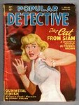 Popular Detective Sep 1949 Belarski GG Cvr; Fredric Brown