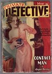 Private Detective May 1938 Parkhurst cover