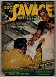 Doc Savage Feb 1942 Emery Clarke Cvr; Kenneth Robeson; Norman A. Daniels