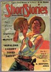 Short Stories Nov 10 1937 Classic Hopalong Cassidy cvr