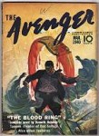The Avenger Mar 1940 Norman A Daniels; Kenneth Robeson; H. W. Scott Cvr Art