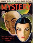 Mystery Oct 1933 Sax Rohmer, Daughter of Sherlock Holmes, Albert Payson Terhune