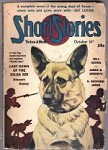 Short Stories Oct 10 1944 German Shepard Cvr,H.B Jones